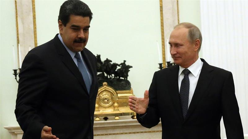 Skipping UNGA, Putin and Maduro hold talks in Russia