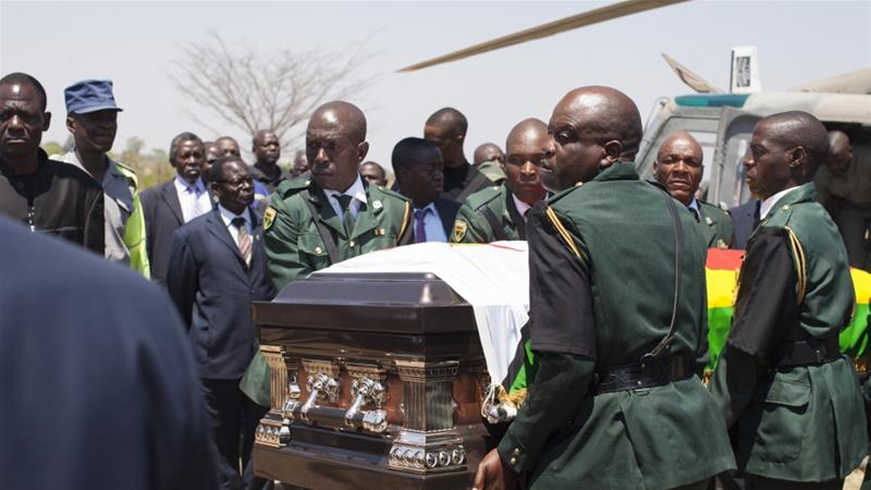 Mugabe to be buried at his home village