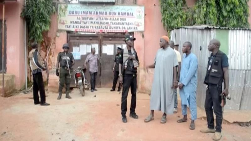 Hundreds of 'abused' captives freed from Nigeria Islamic school