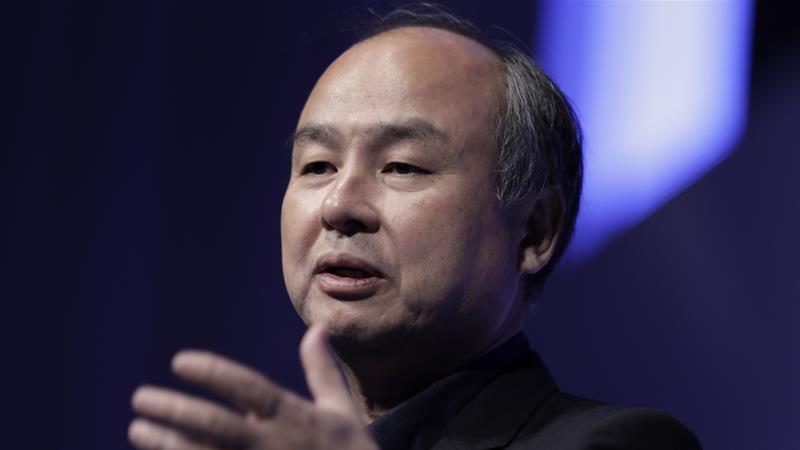 Masayoshi Son, the founder and CEO of Softbank, has been founder-friendly, but his firm has also intervened in the removal of leaders such as Uber Technologies Inc CEO Travis Kalanick and Brandless Inc CEO Tina Sharkey [File: Kiyoshi Ota/Bloomberg]