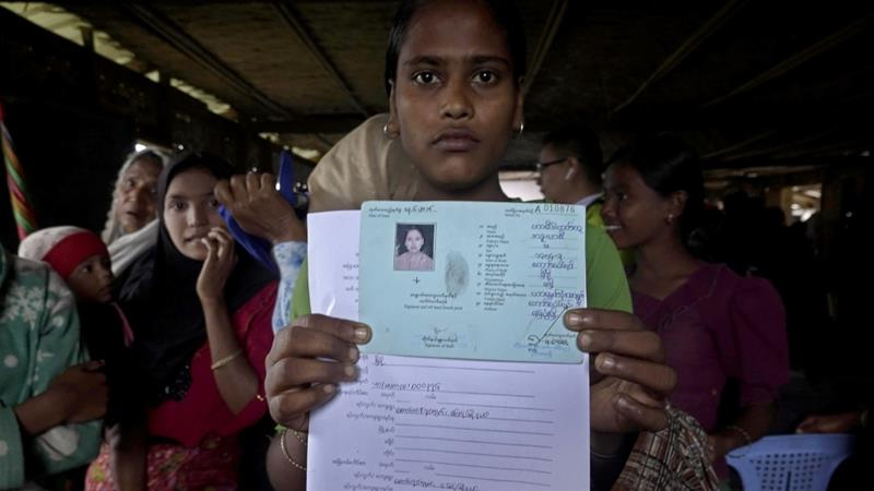 Citizenship is at the heart of Rohingya demands for repatriation to Myanmar [File: Nyunt Win/EPA]