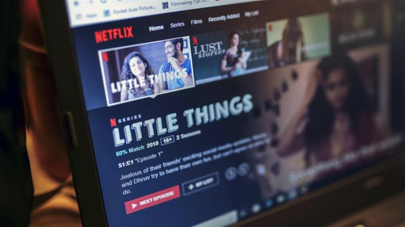 While major players like Netflix target urban subscribers and have high production costs, ALT Digital's ALTBalaji service is focusing on regional Hindi-language shows for the masses [File: Dhiraj Singh/Bloomberg]