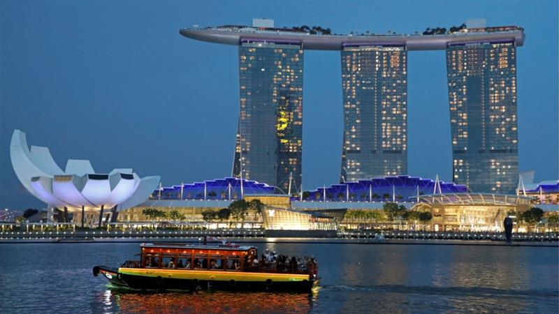 In July, Singapore's hotels recorded an average occupancy rate of 93.8 percent, the highest since 2005 [File: Lim Huey Teng/Reuters]
