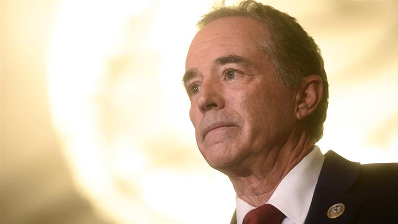 The charges stem from Chris Collins's business ties with biotechnology company Innate Immunotherapeutics  [File: Mark Makela/Reuters]