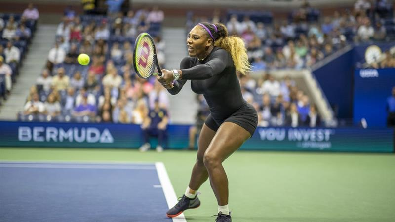 Serena Williams earns 100th US Open victory, breezes into semis