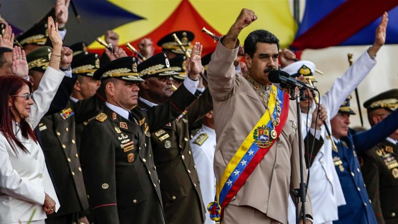 Maduro has ordered Venezuela's military to begin military exercises on September 10 [File: Cristian Hernández/EPA]