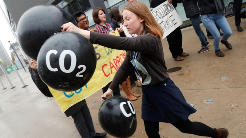 Scientists say emissions of carbon dioxide must be curtailed if climate targets can be met
