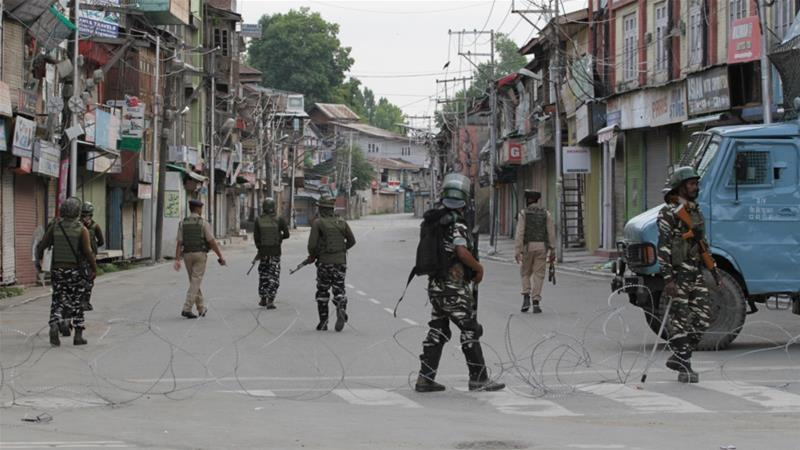 Anger and defiance mark one month of Kashmir siege