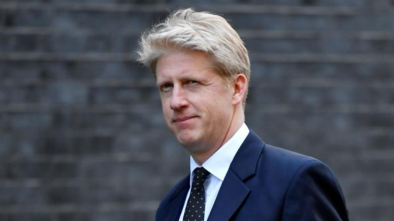 Jo Johnson was a junior business minister in his brother's administration [Toby Melville/Reuters]