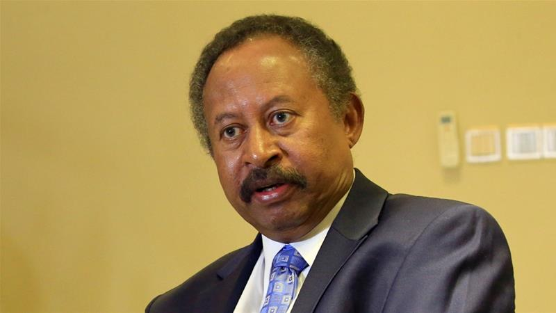 Abdalla Hamdok is the first Sudanese leader to visit the US since 1985 [File: Mohamed Nureldin Abdallah/Reuters]