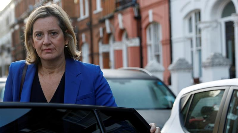 Amber Rudd said she no longer believes leaving with a deal is 'government's main objective' [File: Peter Nicholls/Reuters]