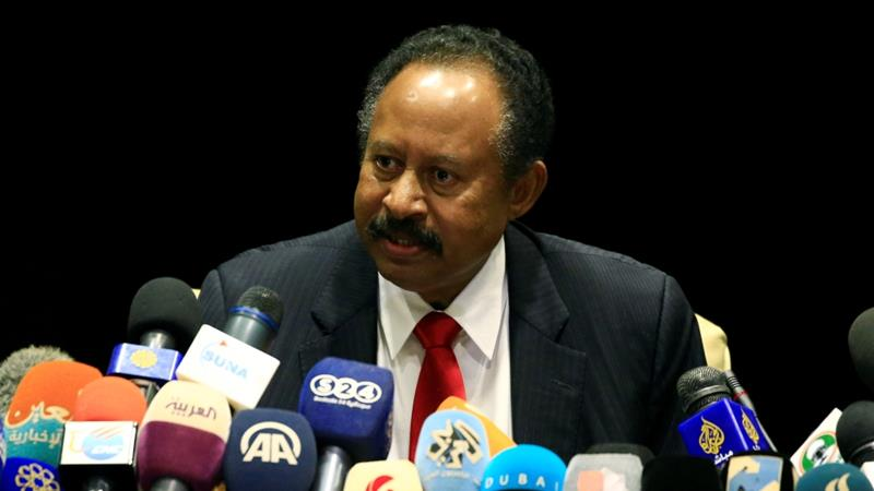 Sudan Prime Minister Abdalla Hamdok has said bringing peace and reviving the economy will be his top priorities [Mohamed Nureldin Abdallah/ Reuters]