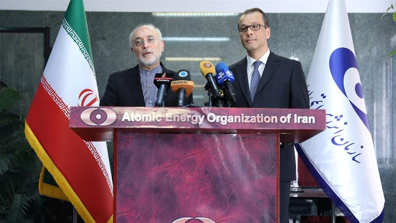 United Nations  atomic watchdog confirms Iran installing new centrifuges