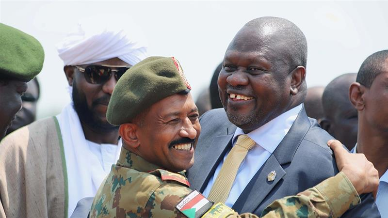 Riek Machar back in S Sudan for rare talks with President