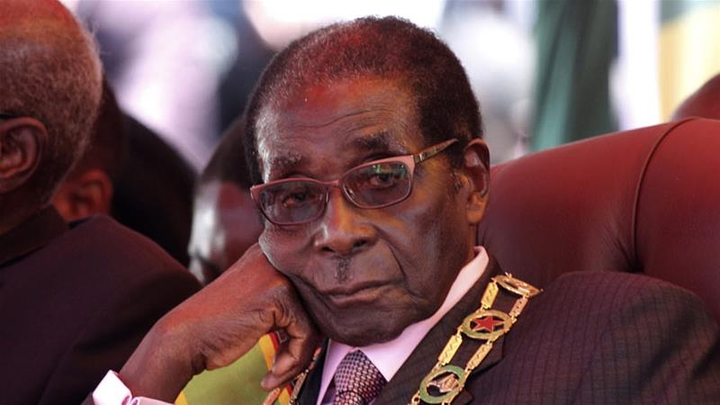 Former Pres Mugabe's burial underway in Zvimba