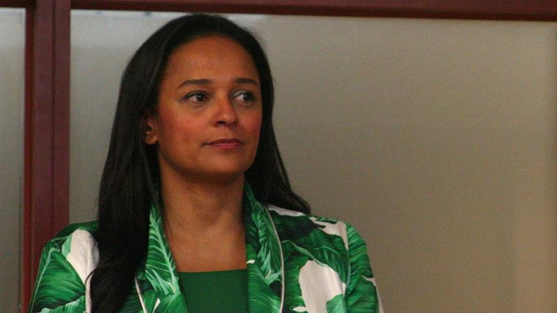 Isabel dos Santos, the daughter of former Angolan President Jose Eduardo dos Santos, is under investigation for alleged irregularities involving state companies [File: Ed Cropley/Reuters]