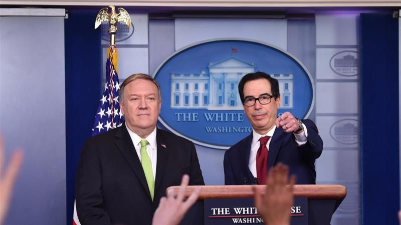 USA  broadens sanctions on Iran officials, economy