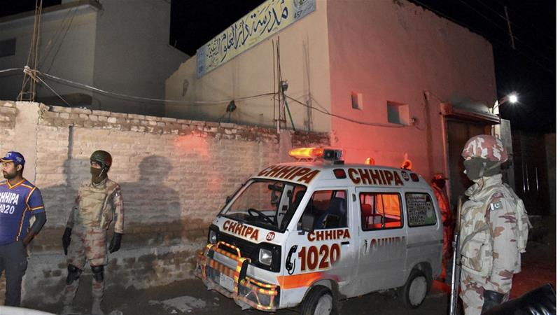 The attack is the second such incident to target security forces in Quetta this week [Arshad Butt/AP]