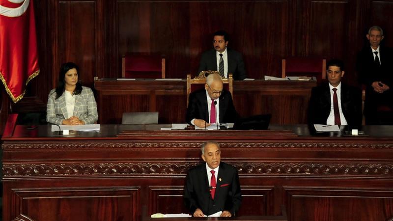Tunisia Parliament Rejects Gov T Of Pm Designate Habib Jemli
