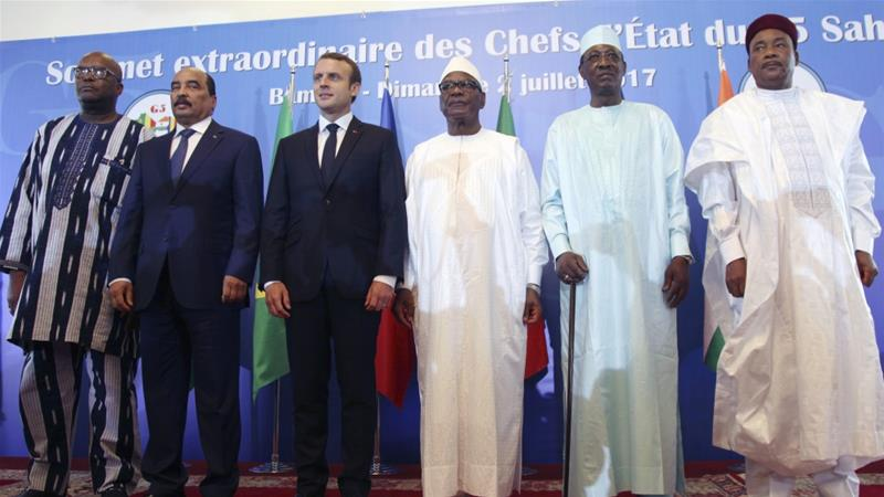 The French president will host the leaders of Mauritania, Mali, Burkina Faso, Niger and Chad [File: Baba Ahmed/Photo]