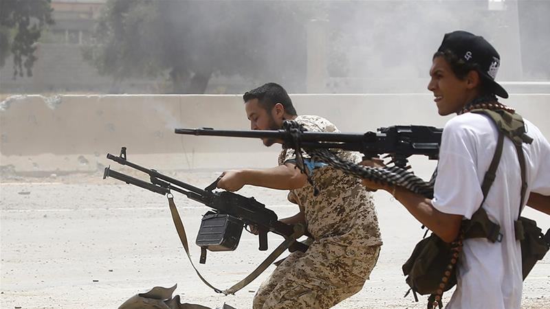 World powers agree to respect arms embargo in Libya's war