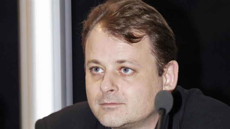 Director Christophe Ruggia was charged based on allegations last year by actress Adele Haenel [Daniel Janin/AFP]