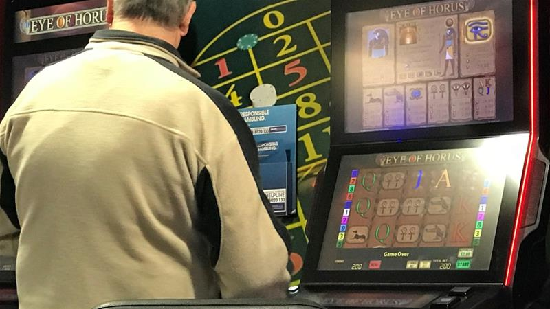 Less than a year after the UK slashed the maximum stake that can be placed on popular fixed-odds betting terminals, it plans to ban gamblers from using credit cards to bet online or offline to rack up debt [File: Phil Noble/Reuters]