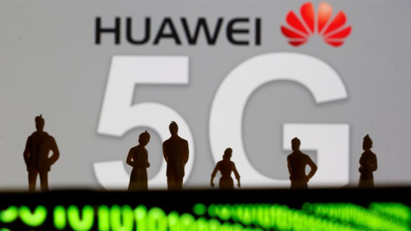 The United States government has urged its allies to exclude Huawei from the West's next-generation communications networks, saying Beijing could use it for spying. Huawei has denied the charges [File: Dado Ruvic/Reuters]