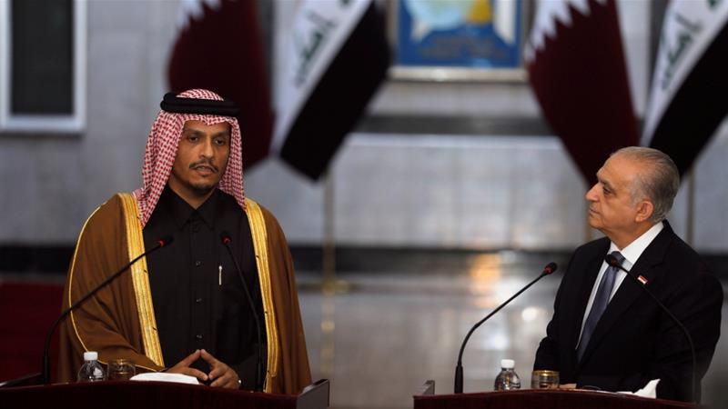 Qatar is seeking to play a mediating role amid tensions that soared following a US drone strike earlier this month [Khalid al-Mousily/Reuters]