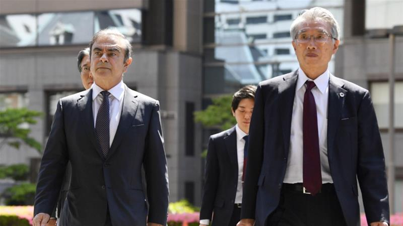 Carlos Ghosn's Japanese lawyers quit after former Nissan chief absconds