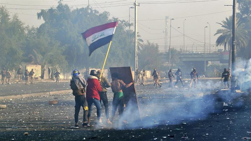 Iraqi security forces kill two protesters in Baghdad