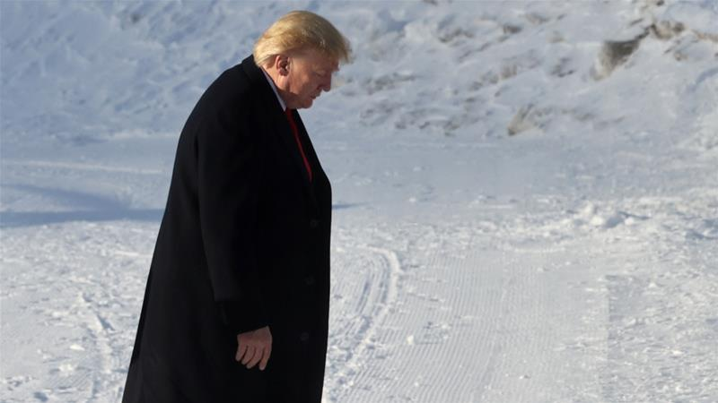 Davos 2020: Trump lavishes praise on US economy
