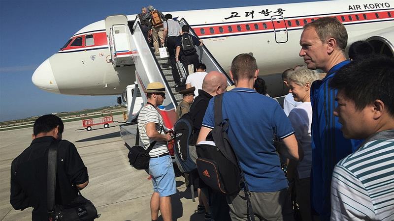 Most people who visit North Korea come from China or travel through China [File: Wong Maye-E/AP Photo]