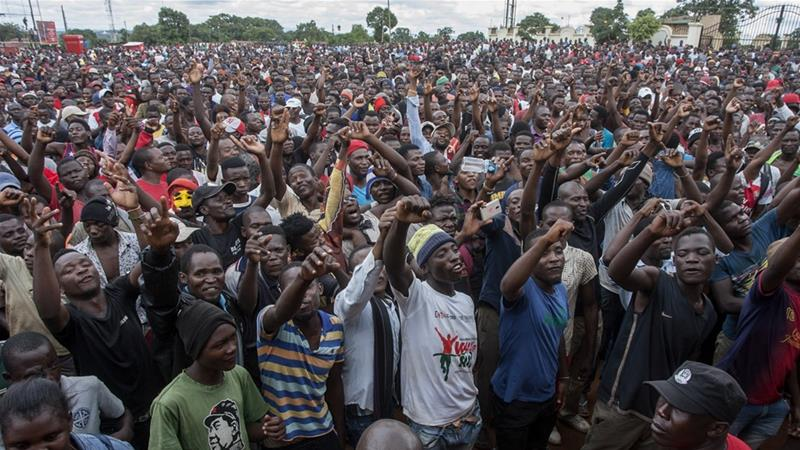 Malawi has since been plagued by protests and demands for Mutharika to resign [File: Amos Gumulira/AFP]