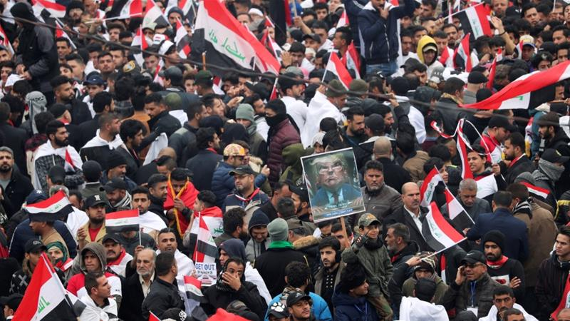 Iraq's Shia leader calls for scheduled pullout of United States troops from Iraq
