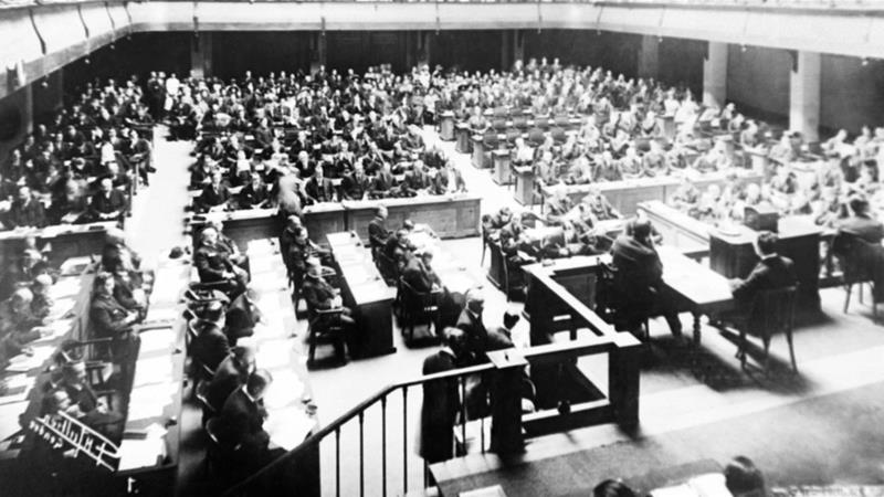 Assembly on the League of Nations was established on January 10, 1920 in Geneva, Switzerland [AP]