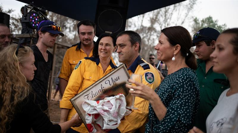 Australians have opened their wallets and hearts amid the country's devastating bush fires [File: Alkis Konstantinidis/Reuters]
