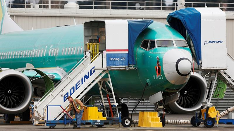 The 737 MAX grounding in March after two crashes that killed 346 people forced Boeing to freeze production of the aircraft this month and led to the removal of former Chief Executive Officer Dennis Muilenburg