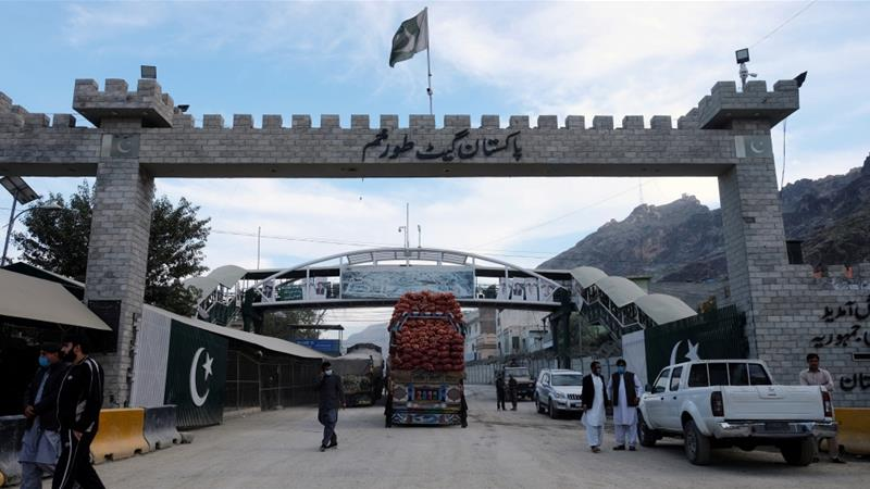 The Torkham border crossing is the main trade link between Pakistan and Afghanistan [File: Alasdair Pal/Reuters]