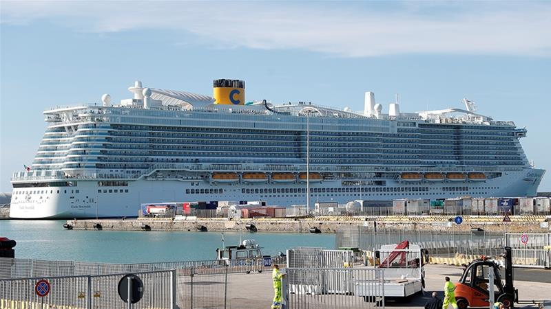 6000 stuck on Italian cruise ship