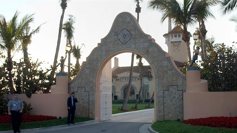 Two arrested after SUV breaches Mar-a-Lago checkpoint, leading to chase