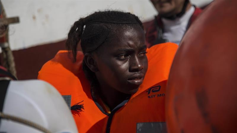 In 2019, at least 1,866 people died while attempting to cross the Mediterranean [Angelos Tzortzinis/AFP]