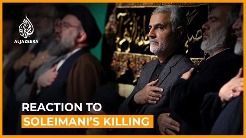 Iranians and Iraqis react to Soleimani's killing