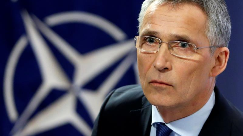 NATO Secretary General Jens Stoltenberg has spoken to key allies in the wake of Soleimani's killing [2018 file photo/Francois Lenoir/Reuters]