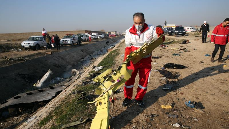 Iran had 'no intention to conceal' cause of plane crash: security official