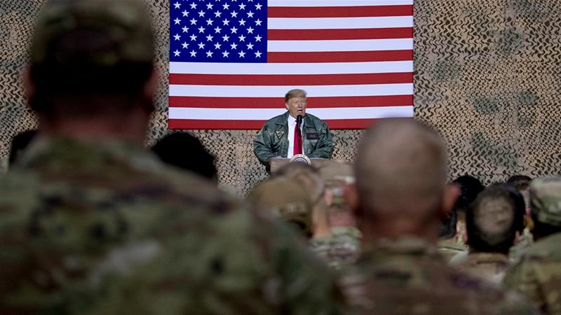 Trump claims Iran preparing 'sneak attack' on USA troops in Iraq