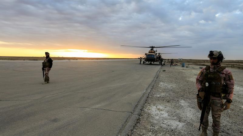 erbil iraq military base