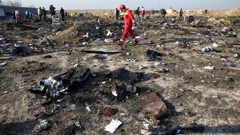 Ukraine wants to search Iran plane crash site for possible missile debris