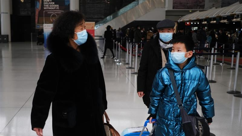 US bans travellers from China as coronavirus toll spikes
