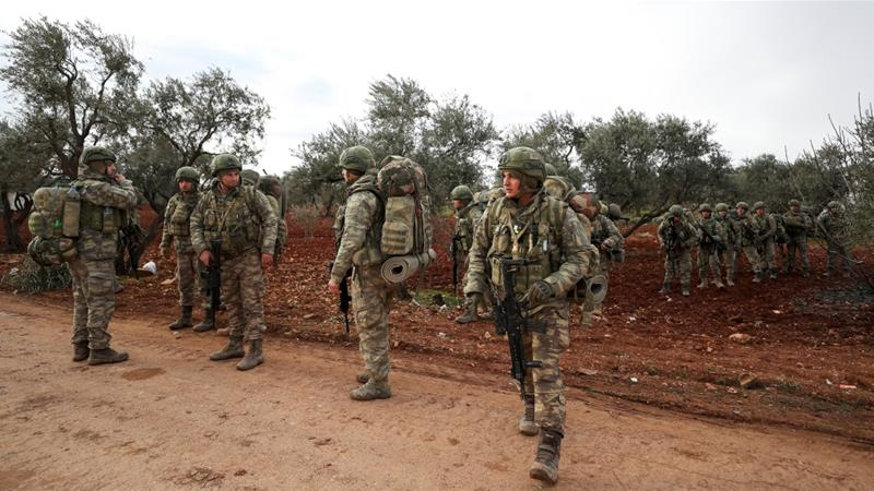 Turkish troops killed in 'intense' Syrian army attack in Idlib